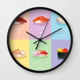 Omakase Sushi Wall Clock