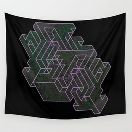 Distorting Darkness Wall Tapestry