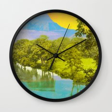 Very desirable place to live Wall Clock