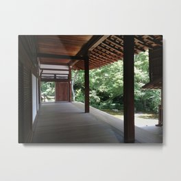 Traditional Japanese Architecture Metal Print
