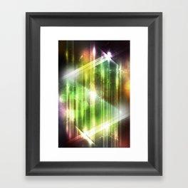 Pulse 3.0 - Glowing Framed Art Print