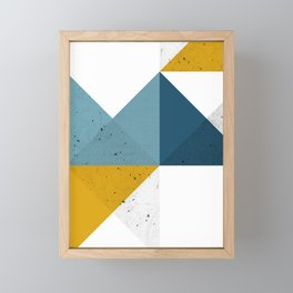 Modern Geometric 19 Framed Mini Art Print