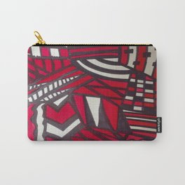 En Rouge & Noir - Red and Black Carry-All Pouch