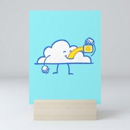 The Coffee Cloud Mini Art Print