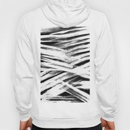 White brush Hoody