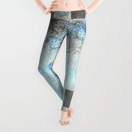 Blue Topaz NebulÆ Leggings