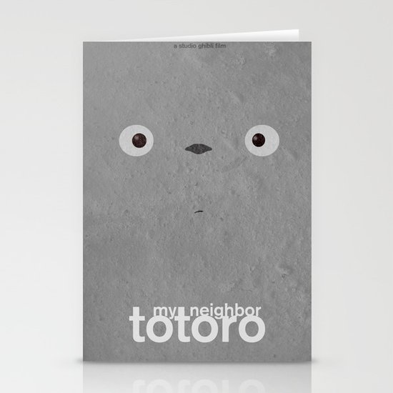 My neighbor Totoro  Stationery Cards