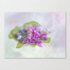 fragrance Canvas Print