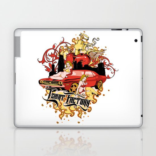 Passion car Laptop & iPad Skin