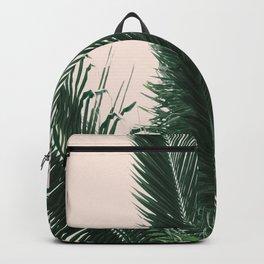 Maui Sunset Palm Leaves Tropicana Backpack