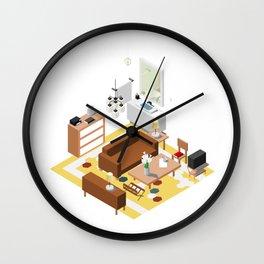 BTS - Isometric Epiphany Wall Clock