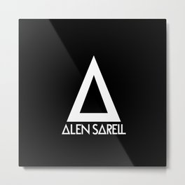 Alen Sarell Metal Print