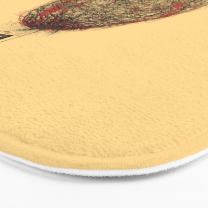 Abstract Connection Bath Mat
