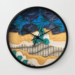 Deserted Stormscape Wall Clock