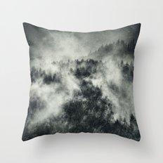 Recently // Dark Boogie Edit Throw Pillow