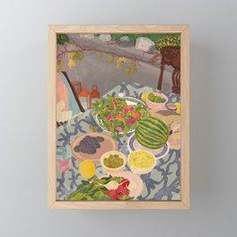 Still Life IV Framed Mini Art Print