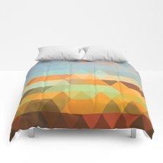 Simple Sky - Sunset Comforters
