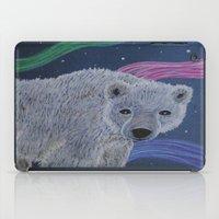 polar bear iPad Cases featuring Polar Bear by Renee Trudell