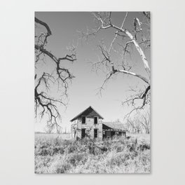 Abandoned: South Dakota 9839 Canvas Print