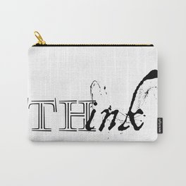 Think In Ink Carry-All Pouch