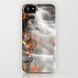 Shades of Death Waterfall iPhone Case