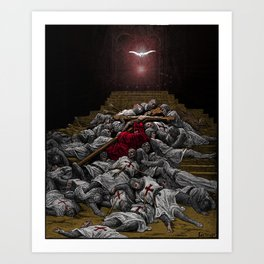 The Fate of The Crusades Art Print