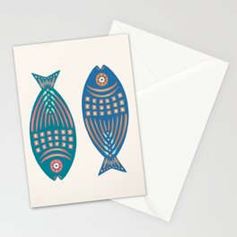 3 Fish   Multi Stationery Cards
