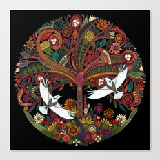 tree of life black Canvas Print