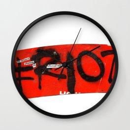#riot Wall Clock