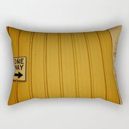 One Way Rectangular Pillow
