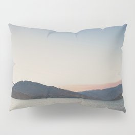 sunset over the lake ... Pillow Sham
