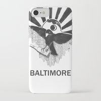 baltimore iPhone & iPod Cases featuring Boboh Baltimore by Adrienne S. Price