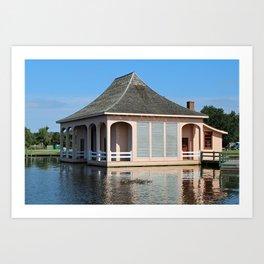 Historic Whalehead Club Boathouse Art Print