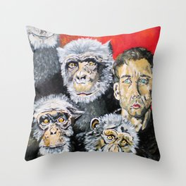 Not Different in Kind but Different in Degree Throw Pillow
