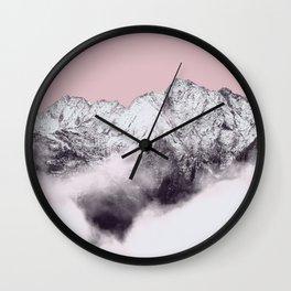 mountain 9a Wall Clock