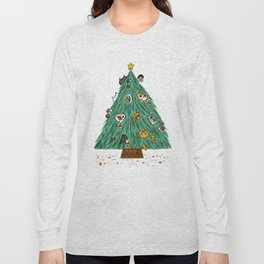A messy Holiday Long Sleeve T-shirt