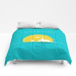 i believe in dinosaurs Comforters