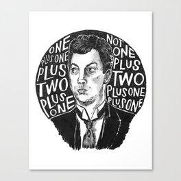 Clue Canvas Print
