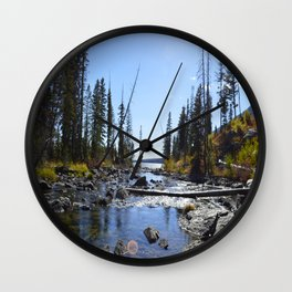 By The River Wall Clock