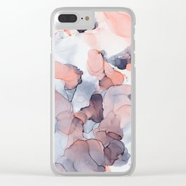 Softly Spoken Clear iPhone Case