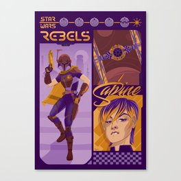 Rebel 1: Sabine Wren Canvas Print