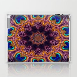 Peacock Fan Star Abstract Laptop & iPad Skin