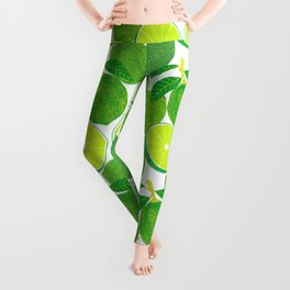 Lime Harvest Leggings