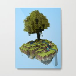 Tree Rest Metal Print