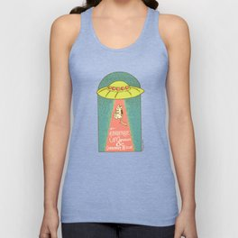 The Albuquerque UFO Museum and Chihuahua Rescue Unisex Tank Top