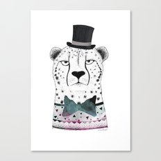 MR. CHEETAH Canvas Print