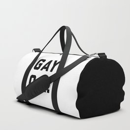 Gay O.K. Quote Duffle Bag