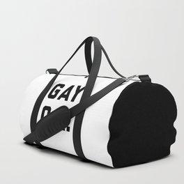 Gay O.K. Quote Duffle Bag
