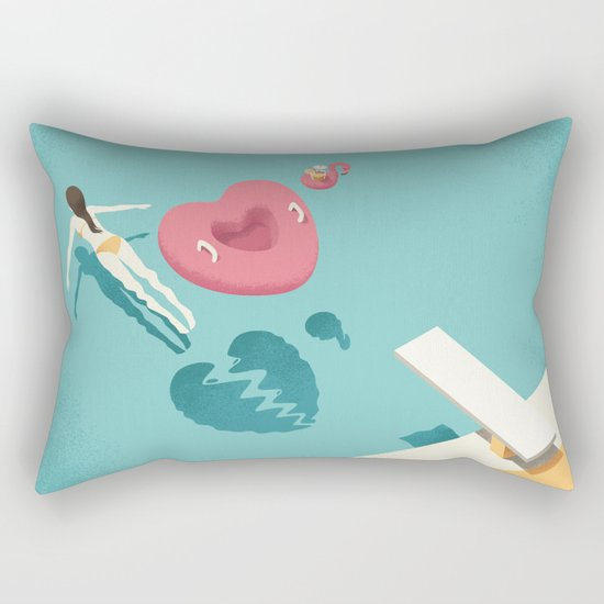 Breaking Rectangular Pillow