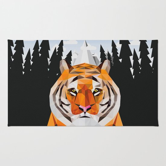 The Siberian Tiger Rug